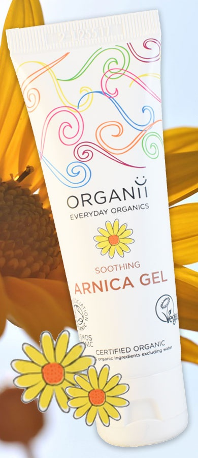 Organii Soothing Arnica Gel 50ml