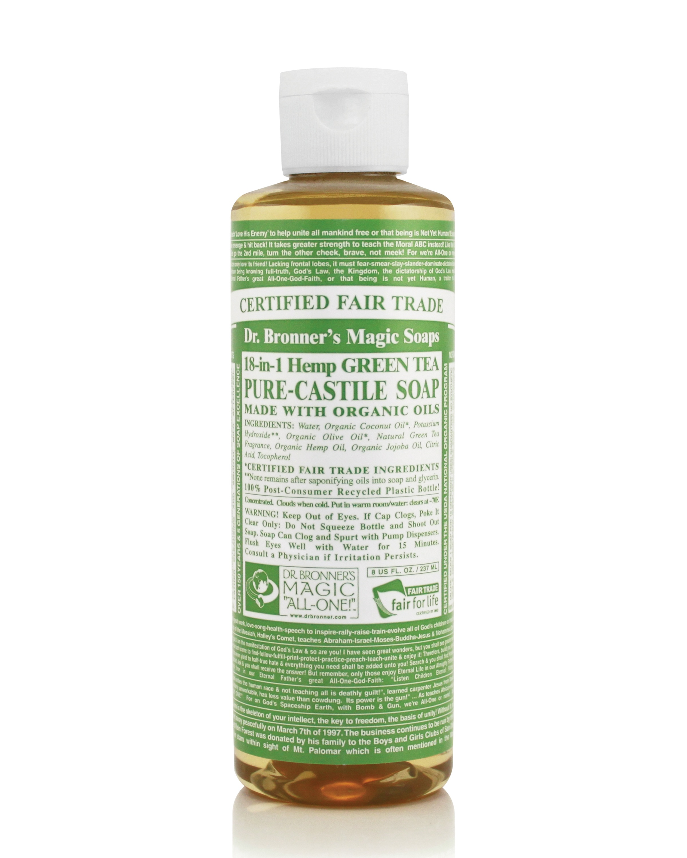 Dr.Bronner's Castille Green Tea Liquid Soap 236ml