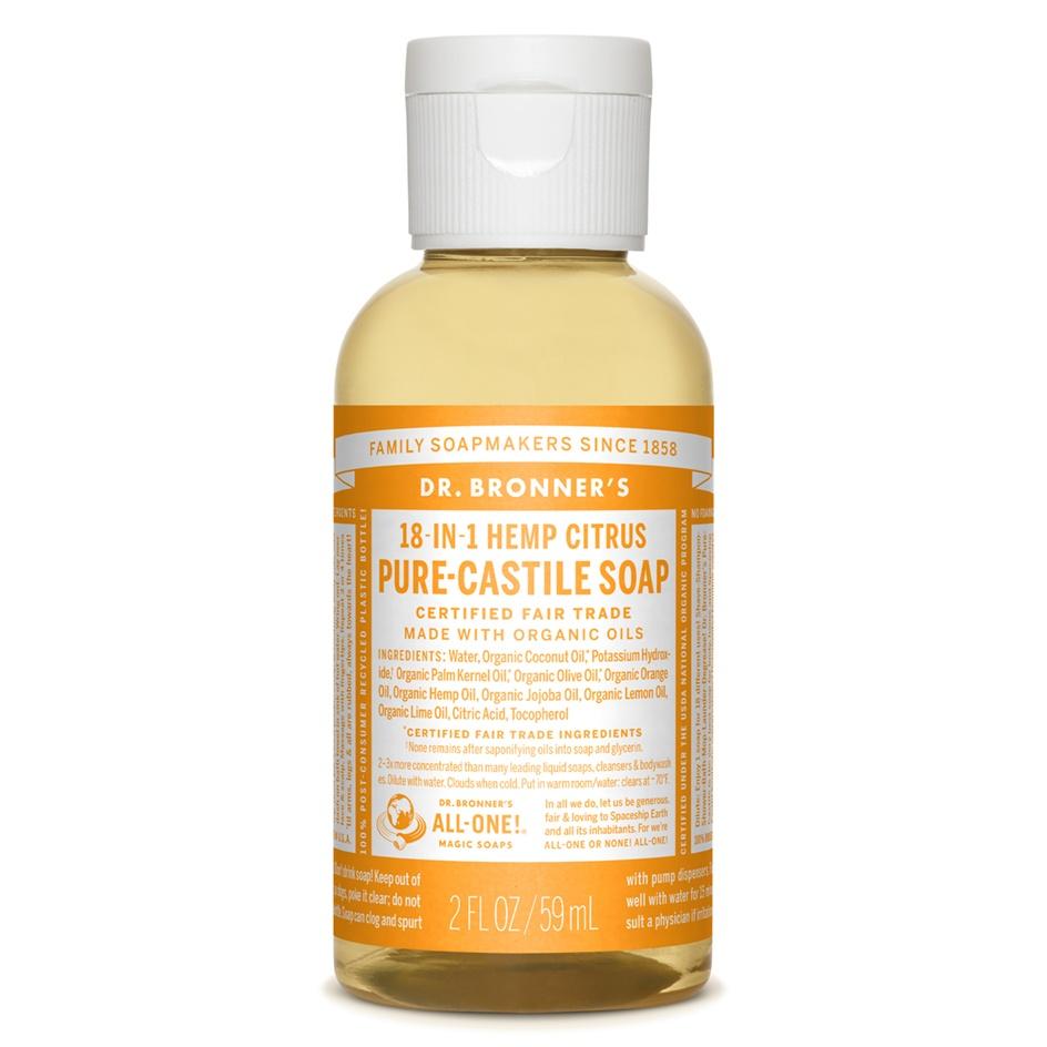 Dr.Bronner's Castille Citrus Liquid Soap 59ml