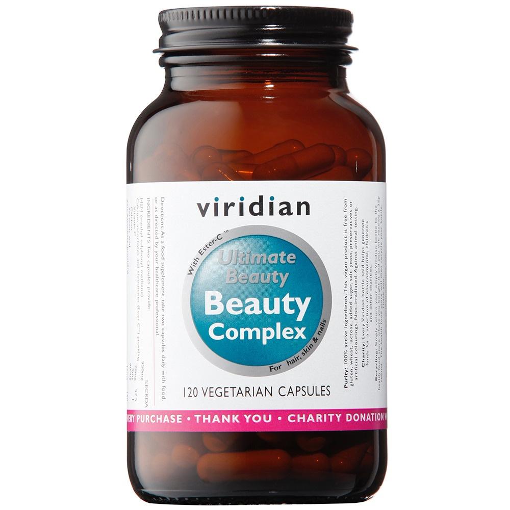 Viridian Ultimate Beauty Complex Veg Caps 120caps
