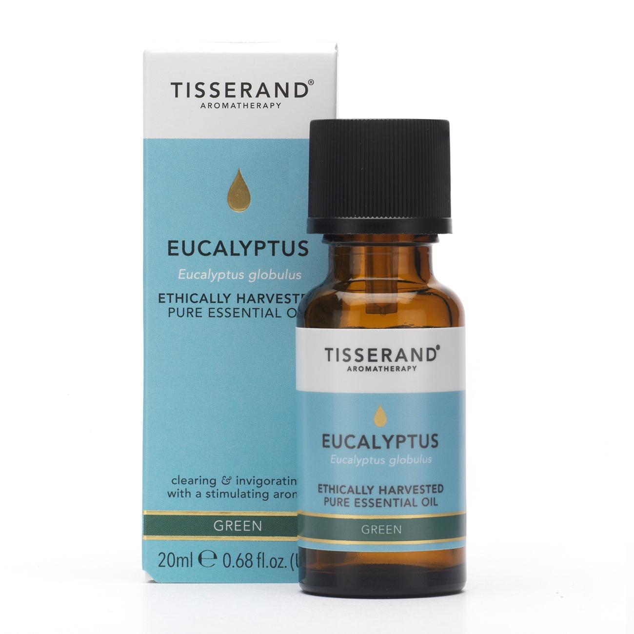 Tisserand Ethically Harvested Eucalyptus Essential Oil (20ml)