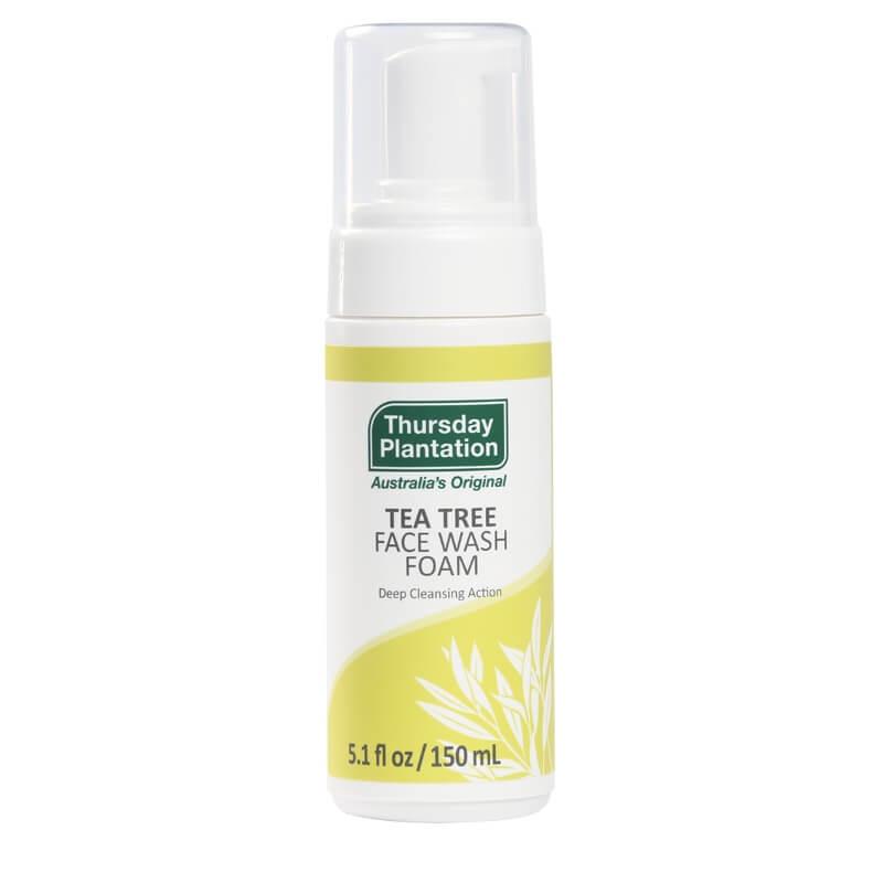 Thursday Plantation Tea Tree Face Wash Foam 150ml