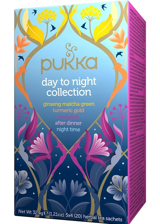 Pukka Day to Night Collection 20 herbal teabags