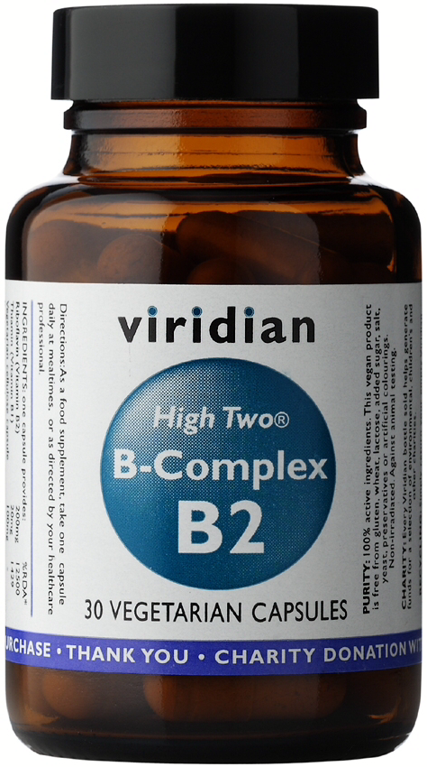 Viridian High Two B-Complex Veg Caps 30caps