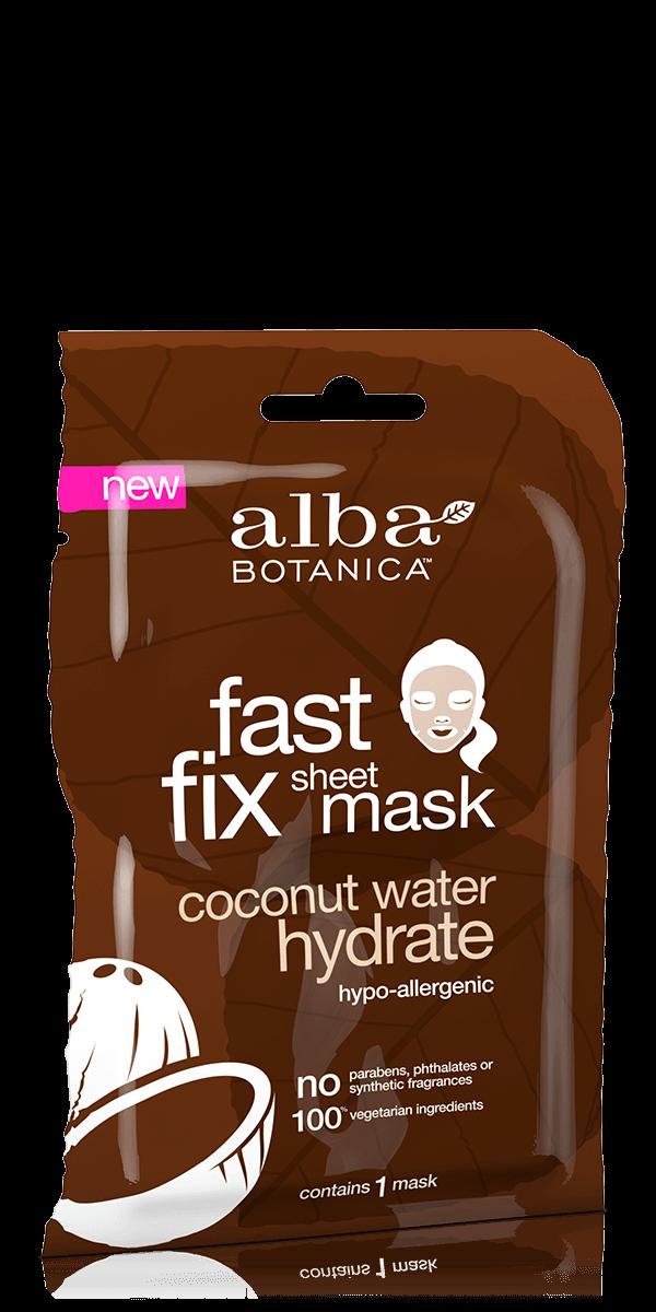 Alba Botanica Fast Fix Sheet Mask Coconut Hydrate (single sheet)