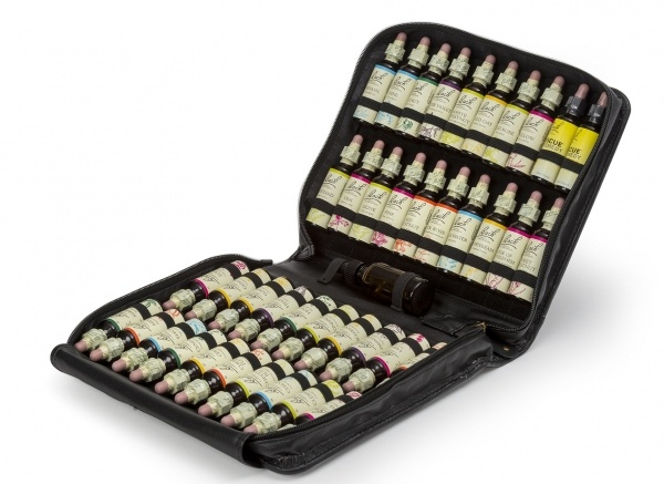 Bach Original The complete set of 20ml flower remedies in a top quality faux leather case