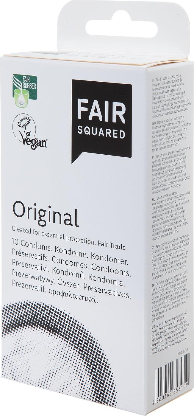 Fair Squared Condoms Original 10pcs
