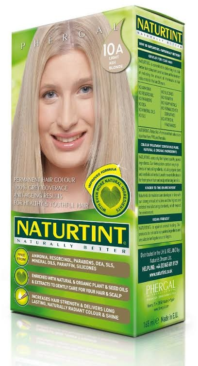 Naturtint Light Ash Blonde 10A Permanent