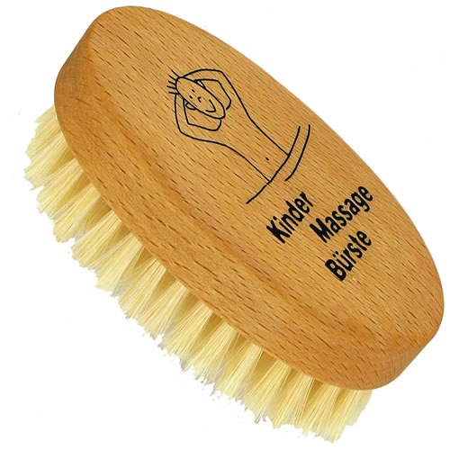 Forsters Kids Body Brush (without handle) Beech Wood with Natural Bristles