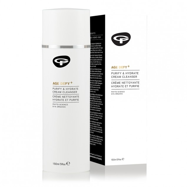 Green People Age Defy+ Purify & Hydrate Cream Cleanser 150ml