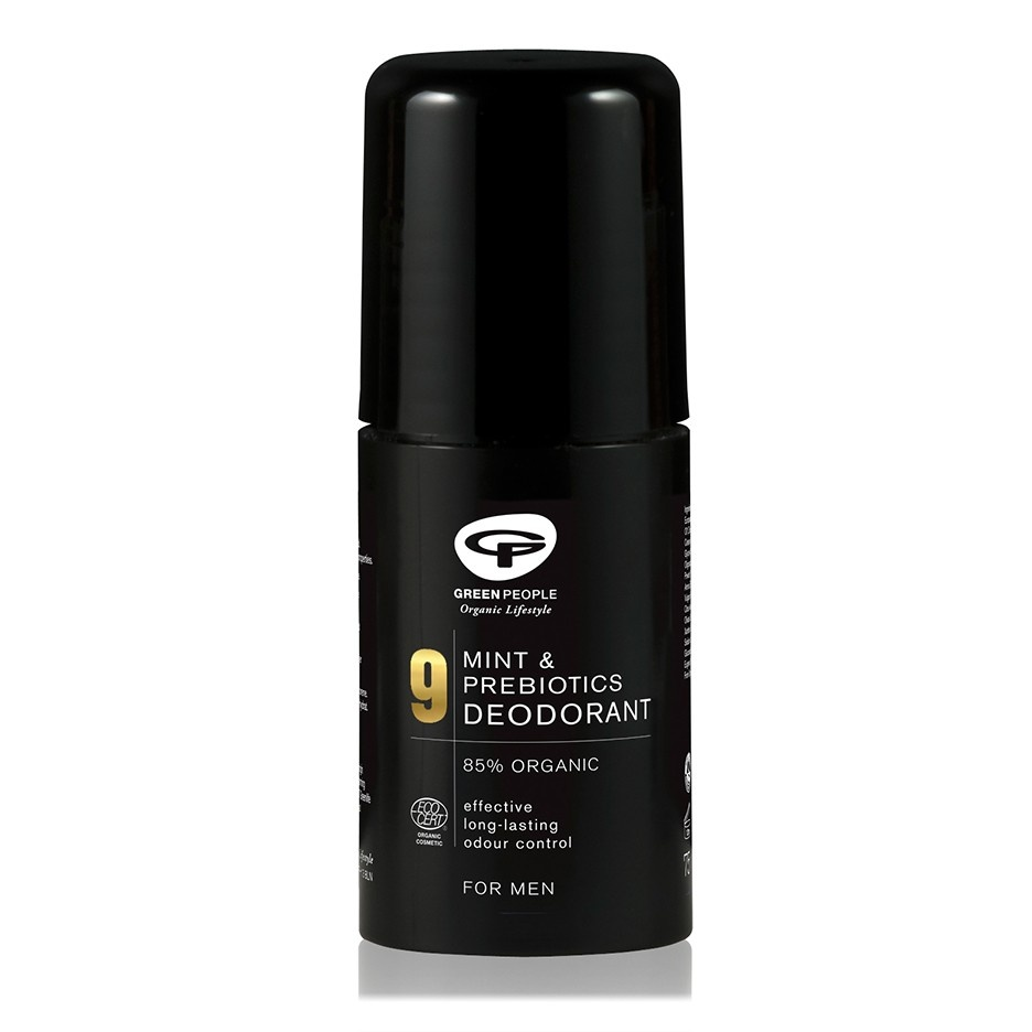 Green People Homme 9 Mint & Prebiotics Deodorant 75ml
