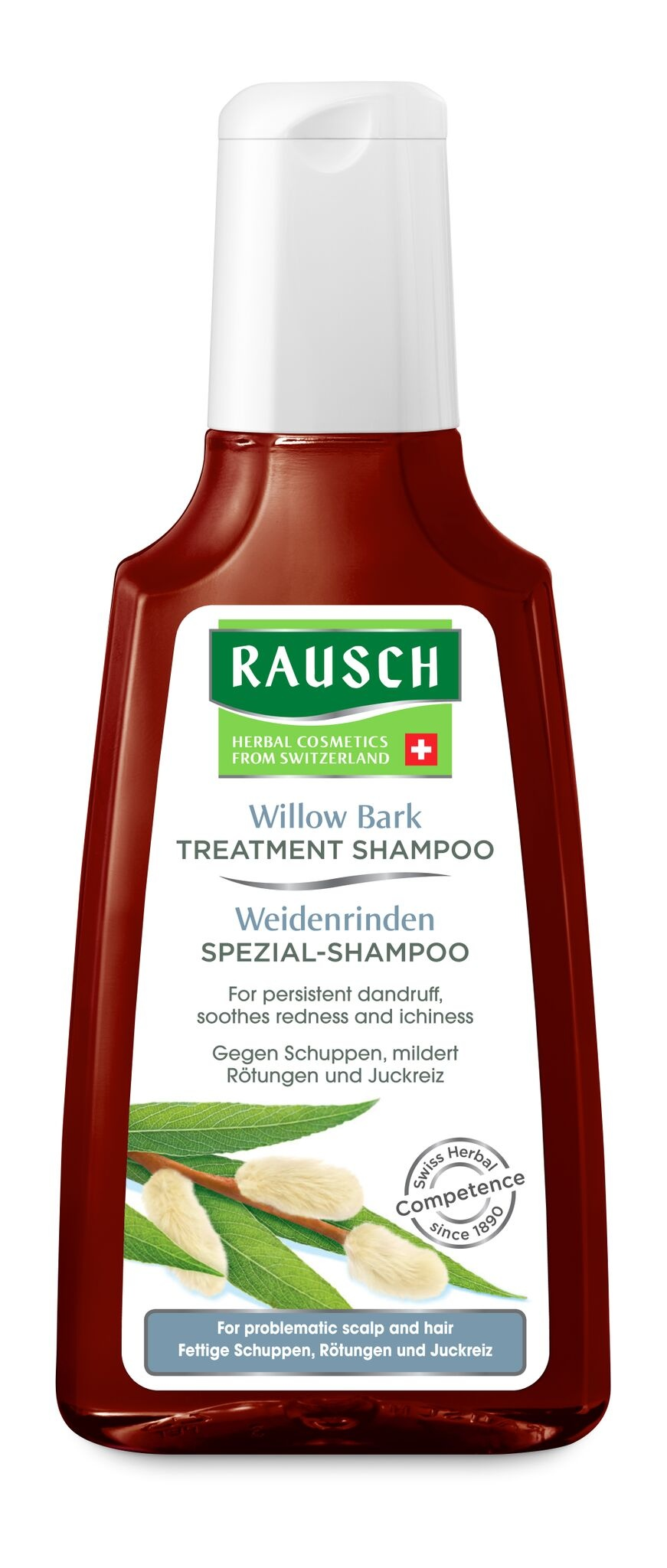 Rausch Wilow Bark Treatment Shampoo for Problematic Scalp and Hair 200mL