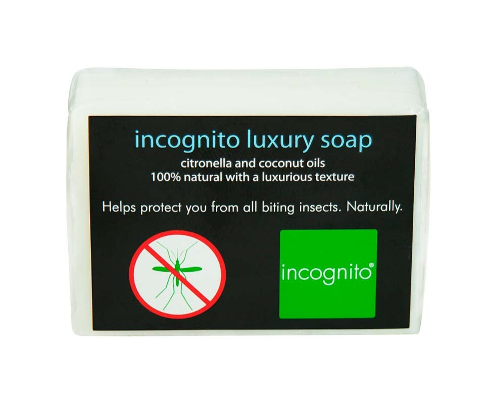 Incognito Luxury Citronella Soap 100g