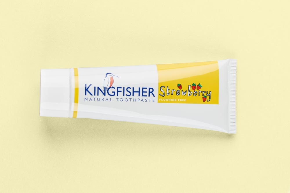 Kingfisher Strawberry Children's Toothpaste 75ml