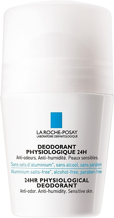 La Roche-Posay Sensitive Skin 24hr Roll On Deodorant 50ml