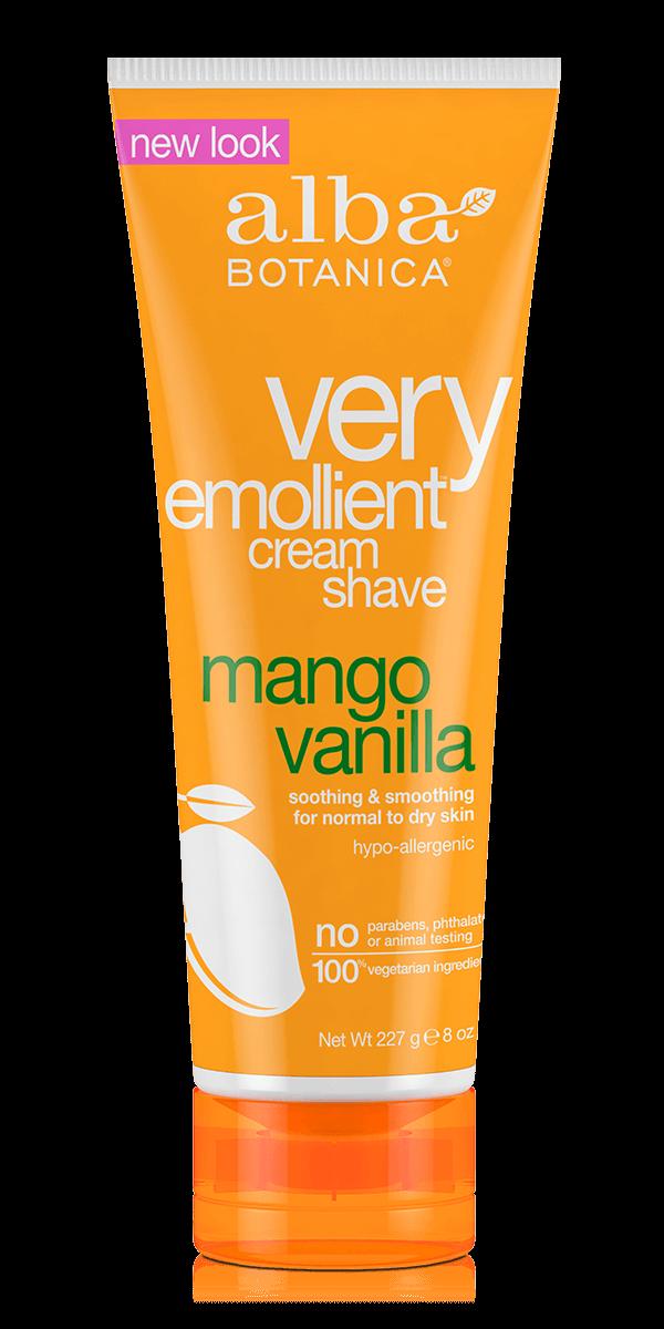 Alba Botanica Very Emollient™ Cream Shave Mango Vanilla 227g