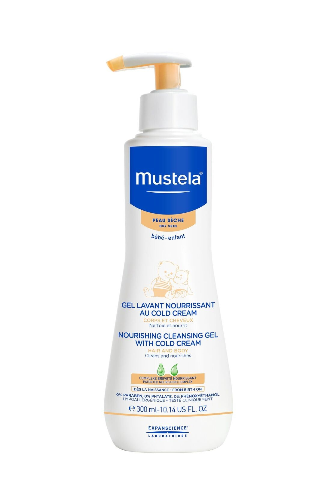 Mustela Nourishing Cleansing Gel with Cold Cream 300ml