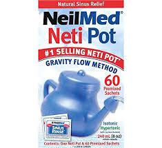 NeilMed NasaFlo Neti Pot - Plastic