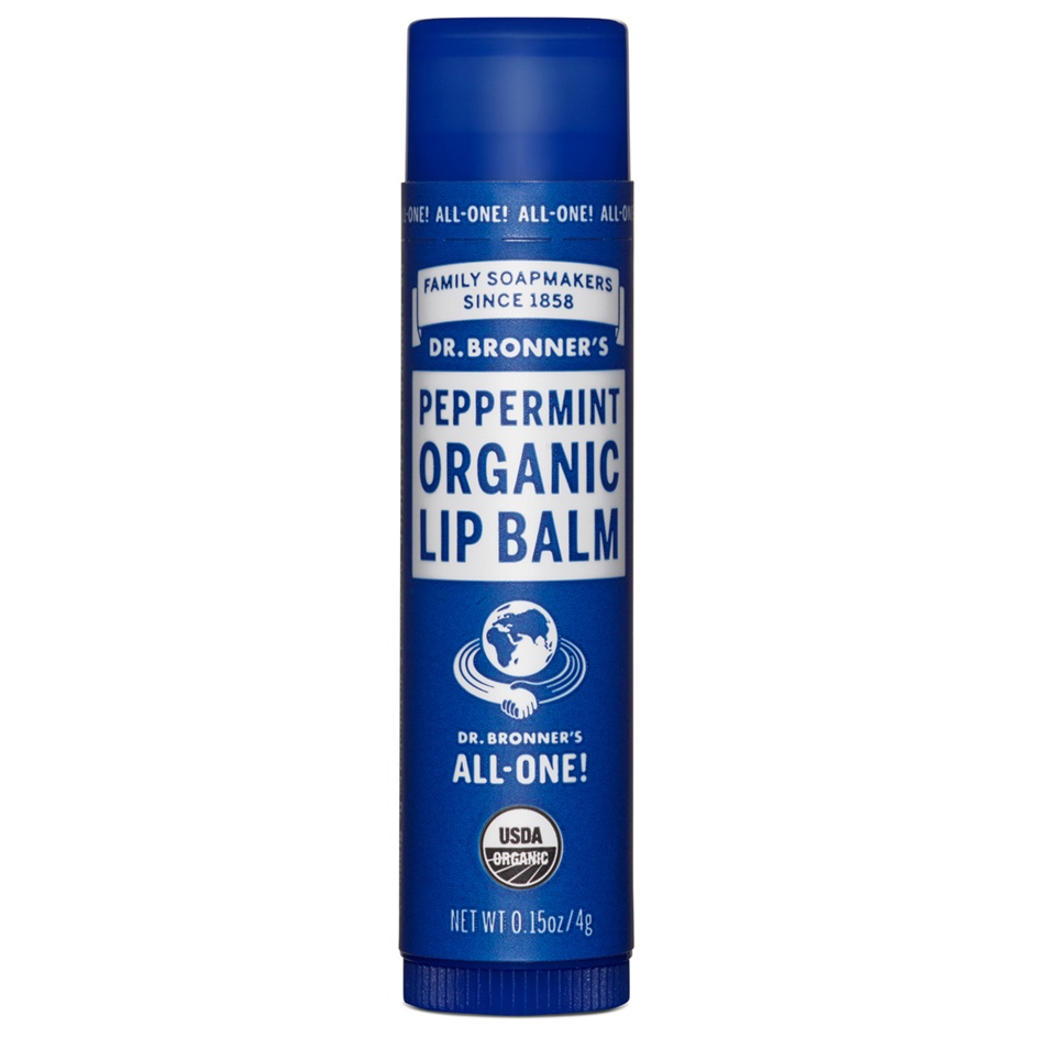 Dr.Bronner's Organic Peppermint Lip Balm 4g