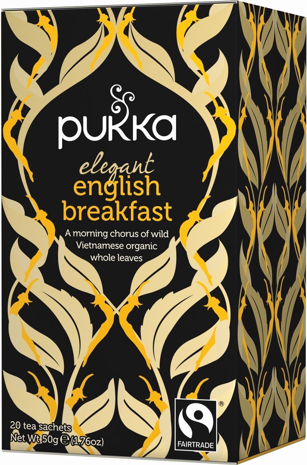 Pukka Elegant English Breakfast Herbal Tea 20 x Bags