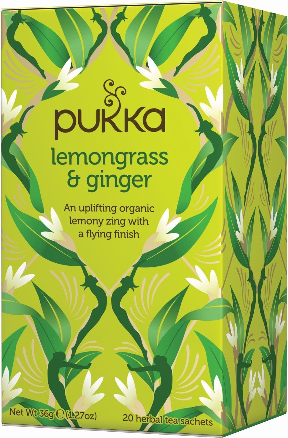 Pukka Lemongrass & Ginger Herbal Tea x 20 bags