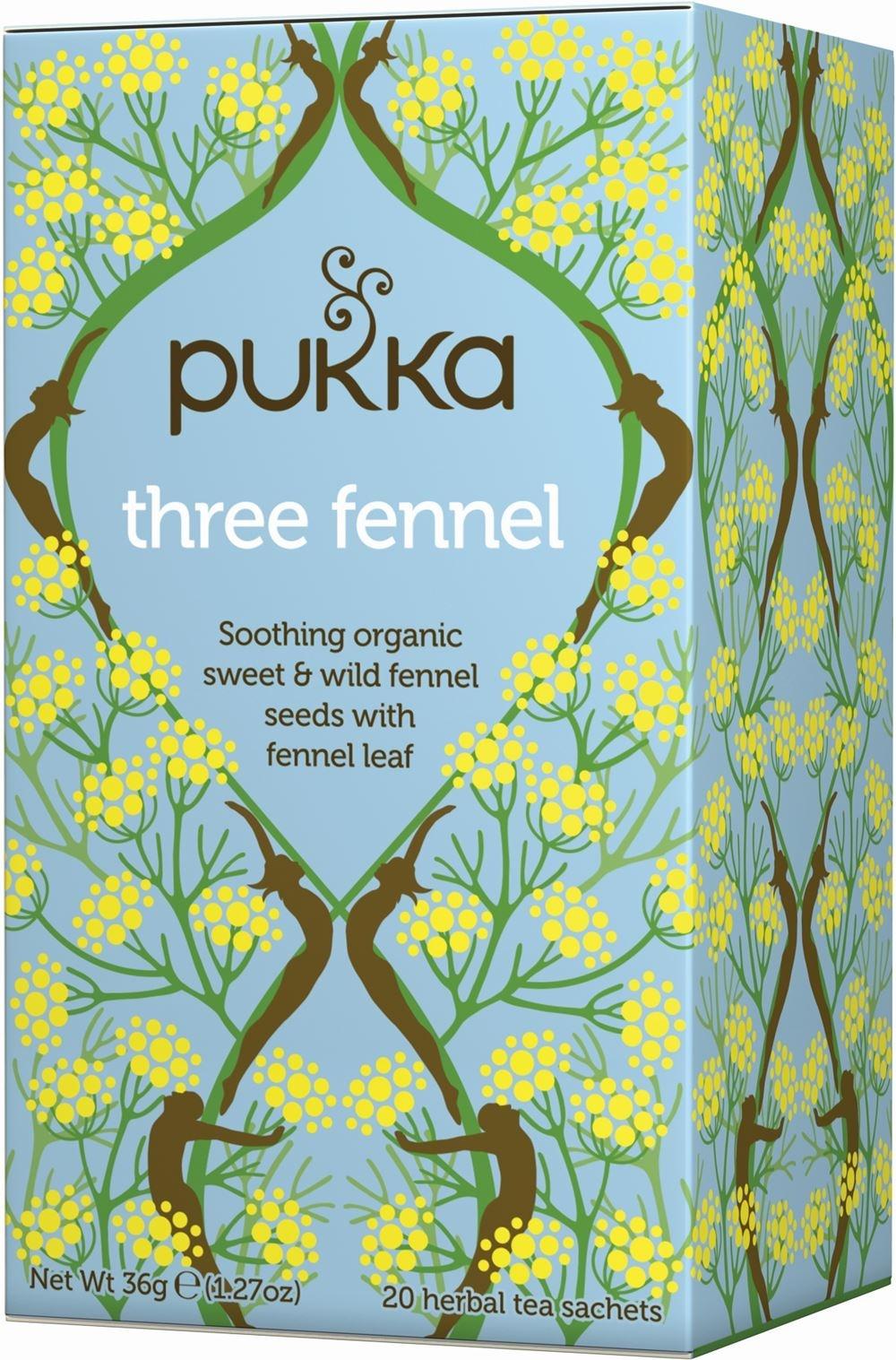 Pukka Three Fennel Tea x 20 bags