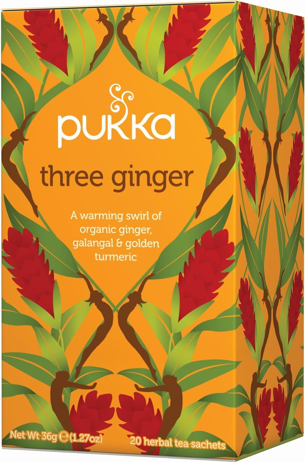 Pukka Three Ginger Herbal Tea x 20 bags