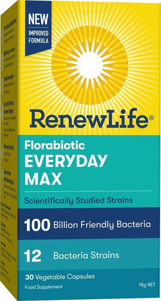 Renew Life Florabiotic Everyday Max 100Bn 30 Capsules