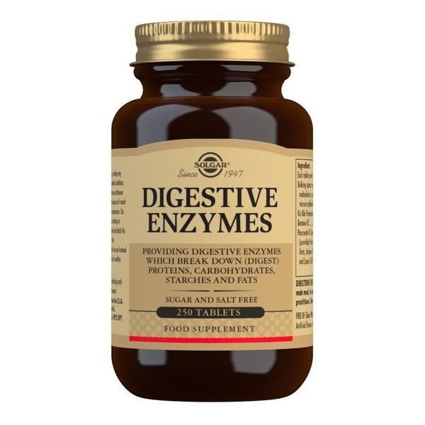 Solgar Digestive Enzymes Tablets - Pack of 250