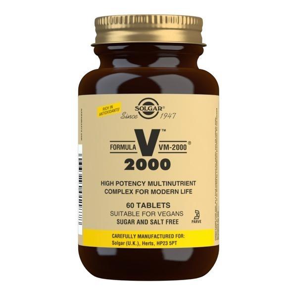 Solgar Formula VM-2000 Multivitamin Tablets - Pack of 60