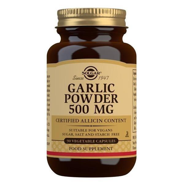 Solgar Garlic Powder 500 mg Vegetable Capsules - Pack of 90