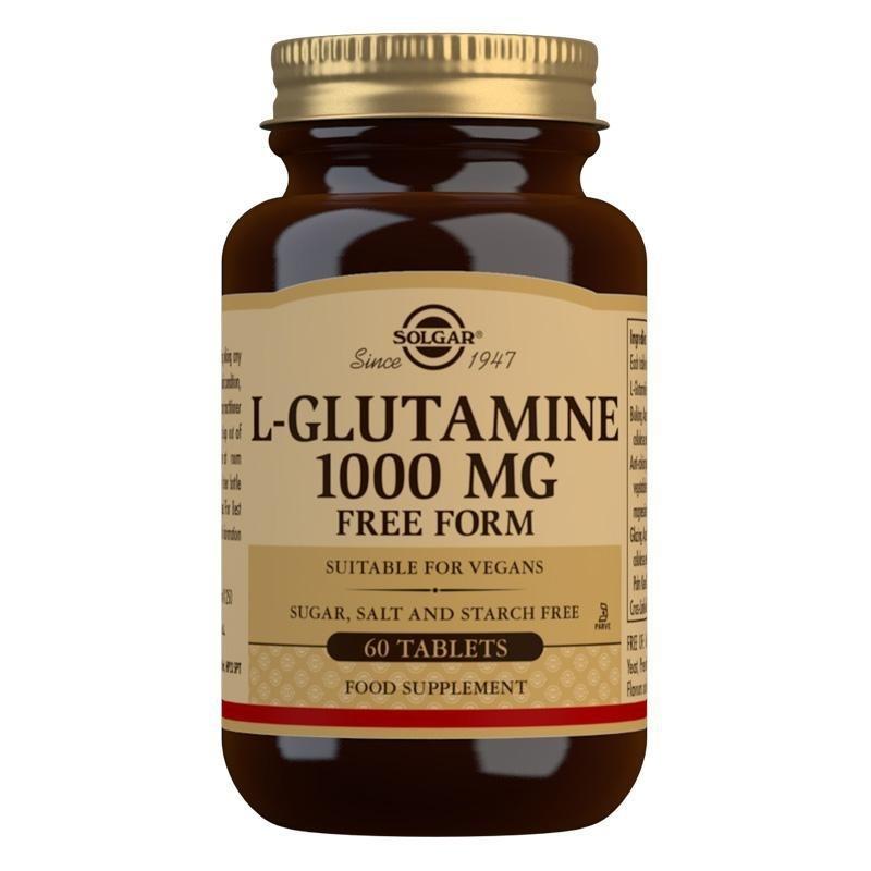 Solgar L-Glutamine 1000 mg Tablets -Pack of 60