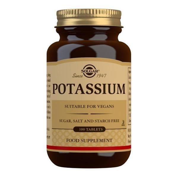 Solgar Potassium Tablets - Pack of 100