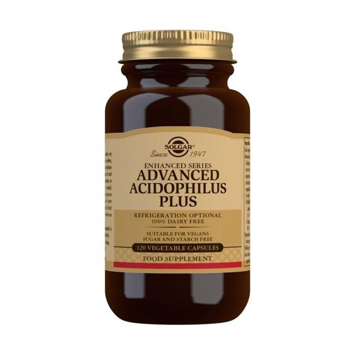 Solgar Advanced Acidophilus Plus Vegetable Capsules - Pack of 120