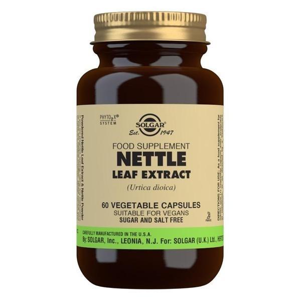 Solgar Nettle Leaf Extract Vegetable Capsules - Pack of 60