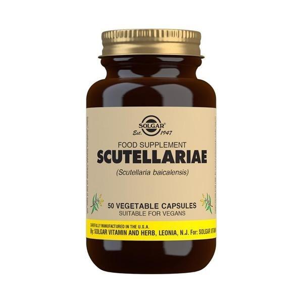 Solgar Scutellariae Vegetable Capsules - Pack of 50