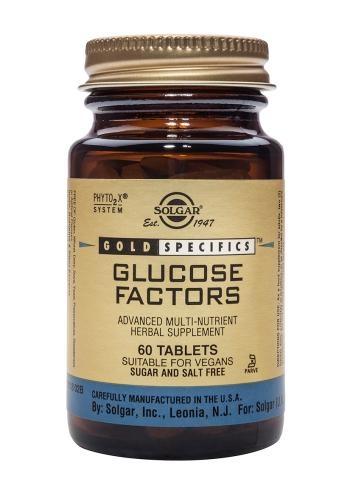Solgar GOLD SPECIFICS Glucose Factors 60 tabs
