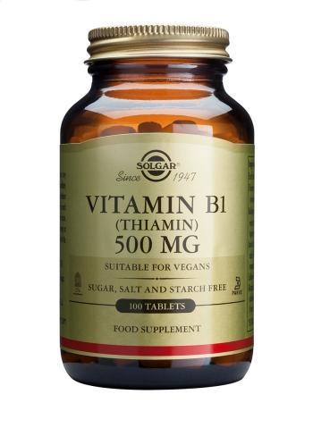 Solgar Vitamin B1 (Thiamine) 500mg 100 tabs