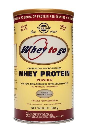 Solgar Whey To Go Protein Powder (Vanilla) 340g