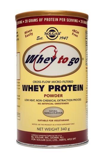Solgar Whey to Go Protein Powder Vanilla 907g