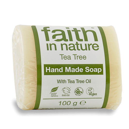 Faith in Nature Tea Tree Soap 100g