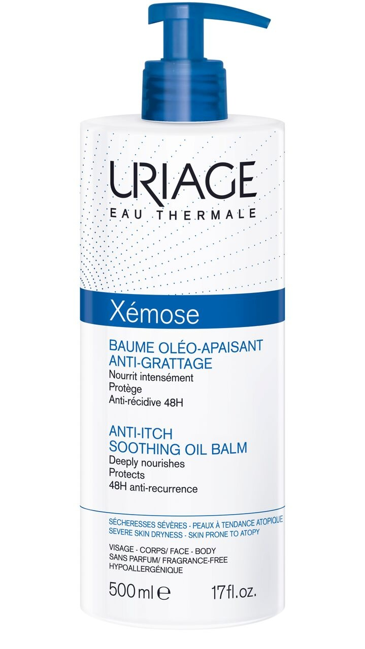 URIAGE XÉMOSE ANTI ITCH SOOTHING OIL BALM 500ml