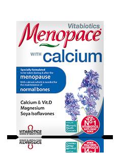 Vitabiotics Menopace Calcium 60 Tablets