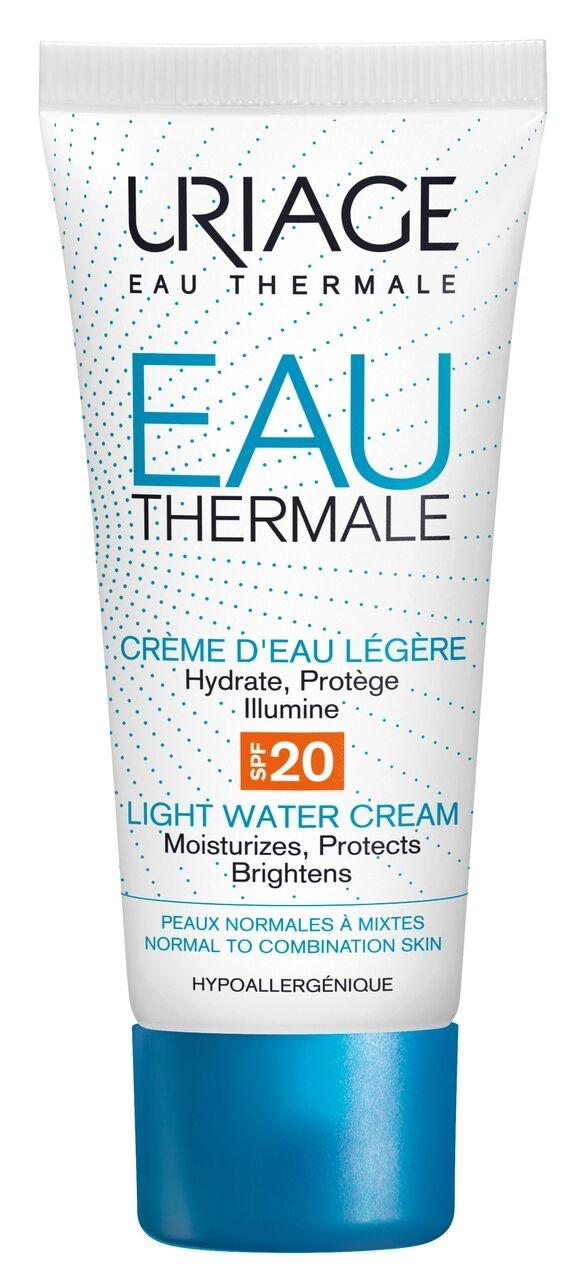 URIAGE EAU THERMAL LIGHT WATER CREAM SPF20 40ml