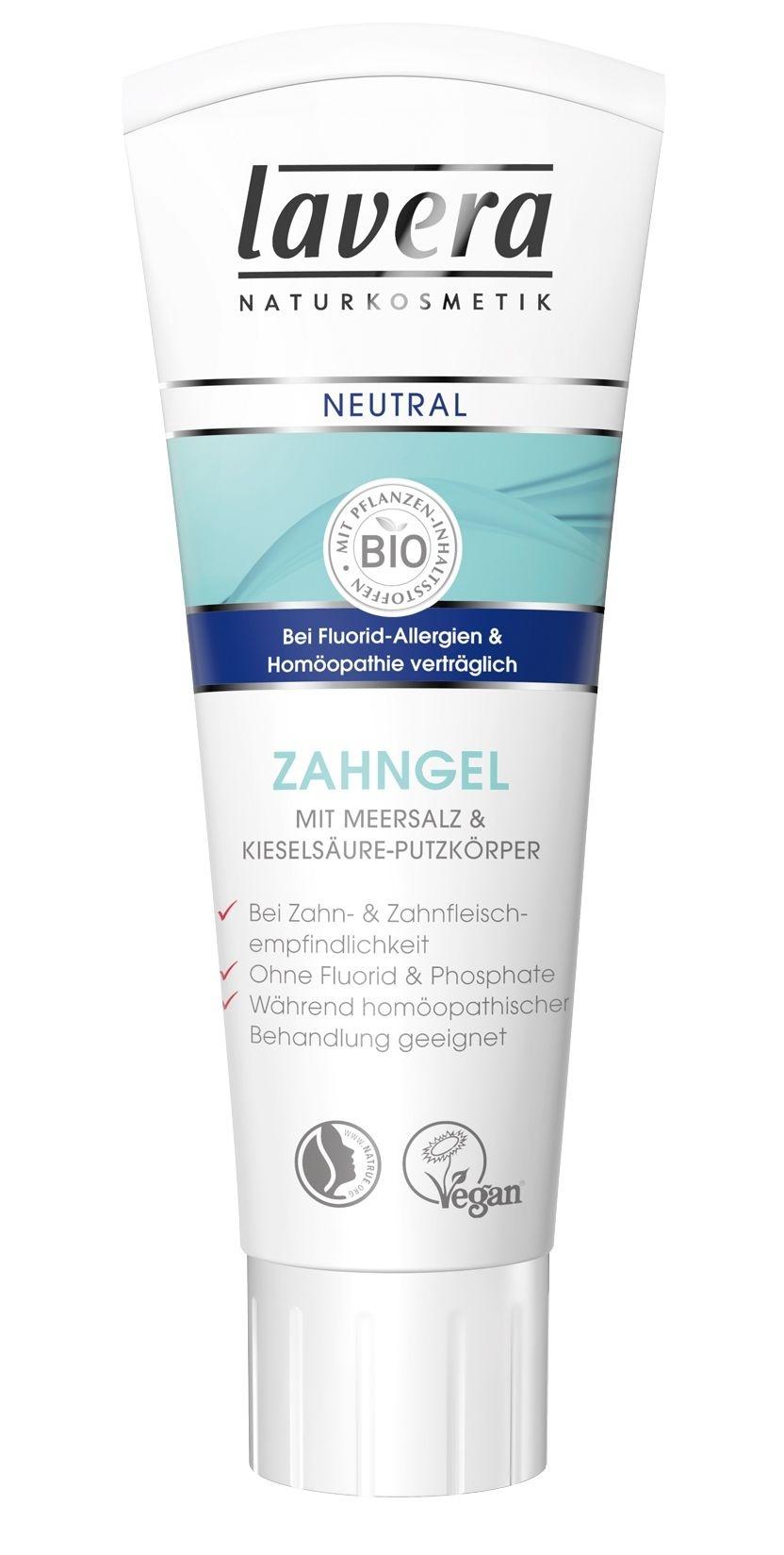Lavera Basis Neutral Gel Toothpaste Gentle cleanser for sensitive teeth 75ml
