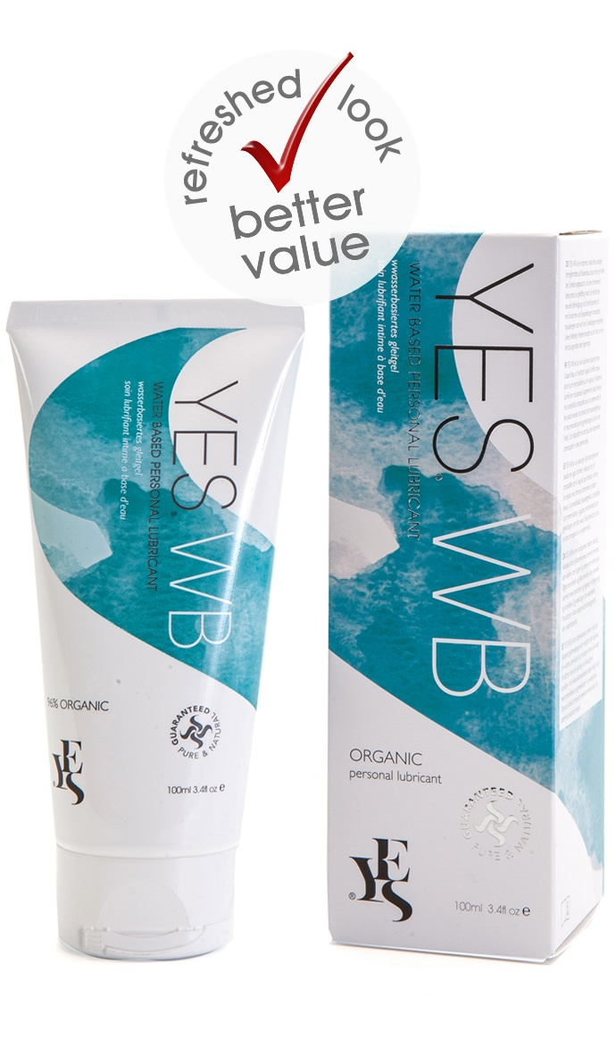 YES WB Water Based Organic Personal Lubricant 100ml