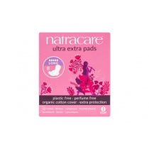 Natracare Ultra Extra Long Period Pads With Wings 8's