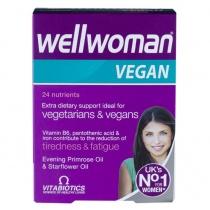 Vitabiotics Wellwoman Vegan Extra Dietary Support 60 Tablets
