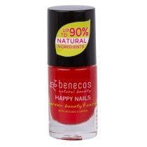 Benecos Vintage Red Nail Polish - 5ml