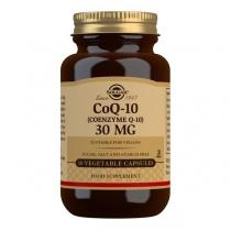 Solgar CoQ-10 (Coenzyme Q-10) 30 mg Vegetable Capsules - Pack of 30
